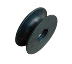 黑色耐磨尼龙滑轮